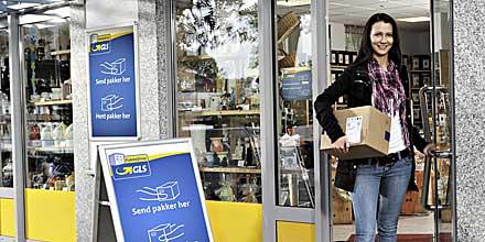 1 000th gls parcel shop in denmark itj transport journal. Black Bedroom Furniture Sets. Home Design Ideas